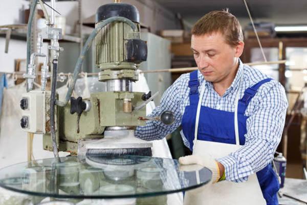 Glarmester Vejle glasmaskine